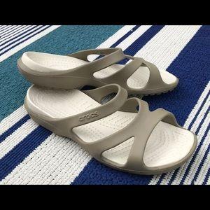 Tan CROCS Sandals - Never Worn